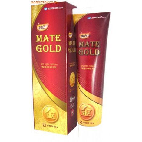 EQ MAXON Зубная паста-гель с частицами золота, 150 гр.Зубные пасты<br>Зубная паста-гель содержит частицы золота.  Предотвращает появление кариеса и болезней десен, устраняет неприятный запах изо рта, превосходно удаляет зубной налет, снижает чувствительность зубов и десен, возвращает зубной эмали натуральную белизну.  Частицы золота обладают мощным антибактериальным действием, ослабляют воспалительные процессы в тканях десен и их кровоточивость, активизируют процессы регенерации тканей, помогают при невралгии, отбеливают, освежают дыхание.  Экстракт зеленого чая оказывает успокаивающее действие.  Экстракт лакричника защищает зубы от кариеса.  После недельного применения пасты наблюдается заметное улучшение состояния десен.  Обладает приятным ароматом ментола.    Состав:  диоксид кремния, полиэтиленгликоль 1500, d-сорбитол (70%), глицерин, натрия карбоксиметилцеллюлоза, ксилит, хитозан, стевиозид, экстракт зеленого чая, экстракт лакрицы, метилпарагидроксибензоат, содиум лаурил сульфат, золотая фольга, экстракт прополиса, краситель желтый-4, краситель желтый-5, l - ментол, ментоловое масло, деионизированная вода.<br>