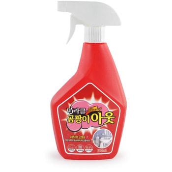 """KMPC """"Orange Power Mildew Remover"""" Жидкое средство для удаления плесени c апельсиновым маслом, 600 мл."""