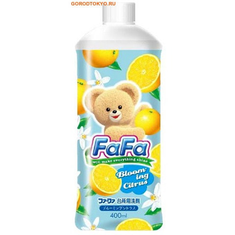 NISSAN «FaFa Series» Средство для мытья посуды с ароматом цитрусовых, 400 мл.