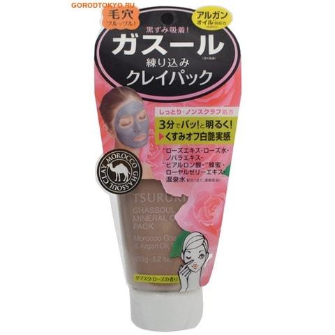 """B&C Laboratories """"TSURURI MINERAL CLAY PACK"""" Крем-маска для лица с каолином и марокканской глиной Гассуль, аромат розы,150 гр."""