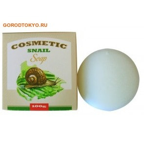 "SEIL TRADE ""COSMETIC SNAIL SOAP"" ������������� ���� ��� �������� � ���������� ����� ������, 100 ��."