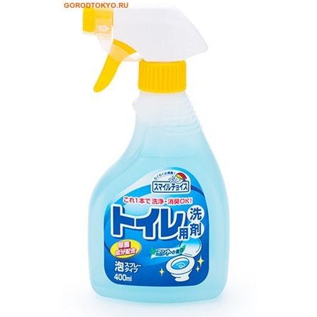 Mitsuei Чистящее средство для унитаза - аромат мяты, с эффектом распыления, 400 мл.