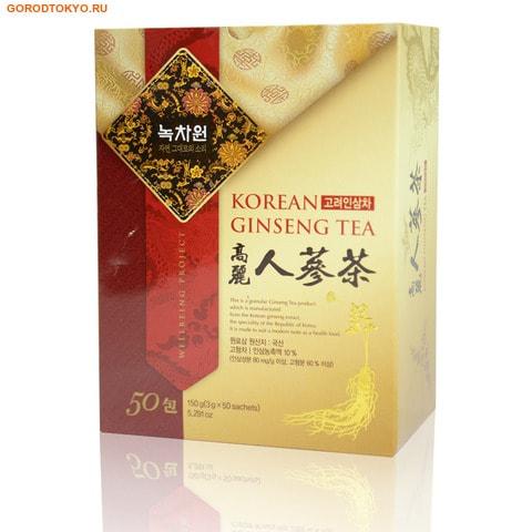 NOKCHAWON Напиток из корейского женьшеня, 150 гр. (50х3 гр.).