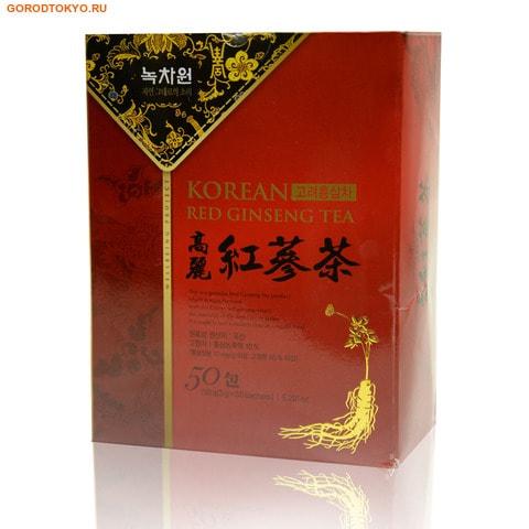 NOKCHAWON Напиток из красного корейского женьшеня (в гранулах), 150 гр. (50х3 гр.).