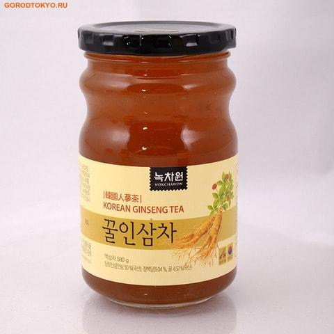 NOKCHAWON Напиток из корейского женьшеня с мёдом, 580 гр.