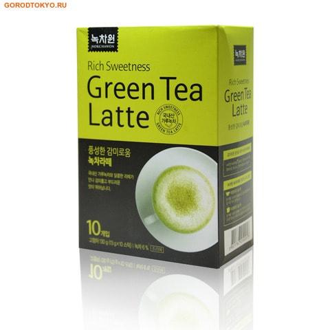 NOKCHAWON Латте со вкусом зелёного чая, 130 гр. (10х13 гр.).