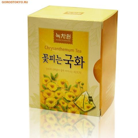 NOKCHAWON Напиток из хризантемы, в пирамидках, 10 пакетиков по 0,6 гр.