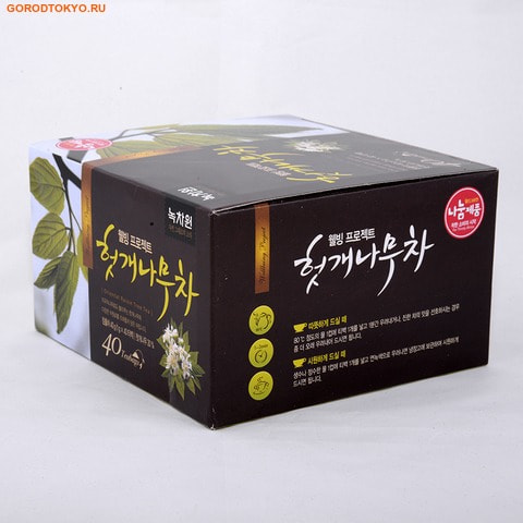 NOKCHAWON Восточный чай с листьями конфетного дерева, 40 гр. (40х1 гр.).