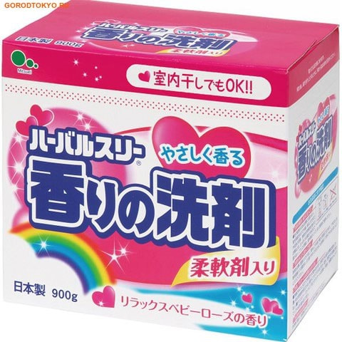 Фото Mitsuei Стиральный порошок с кондиционером, для цветного белья, 900 гр.. Купить с доставкой