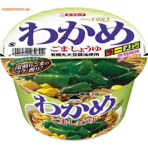 ACECOOK Лапша Рамён с морскими водорослями кунжутом и соевым соусом, 93 гр. от GorodTokyo