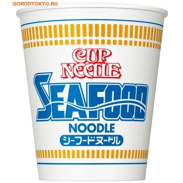 "NISSIN Лапша ""CUP NOODLE SEAFOOD"" со вкусом морепродуктов, 77 гр. от GorodTokyo"