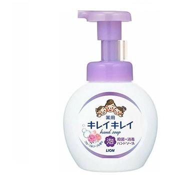 """LION """"Kireikirei"""" Жидкое пенное мыло для рук с ароматом цветов, 250 мл."""