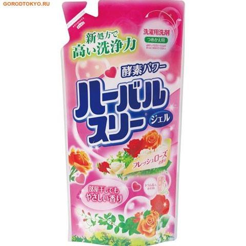 Mitsuei Гель для стирки белья с ароматом роз, 800 мл., сменная упаковка. от GorodTokyo
