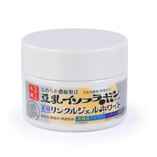 """Sana """"Wrinkle Gel Cream"""" Увлажняющий и подтягивающий крем-гель, с ретинолом и изофлавонами сои (с осветляющим эффектом), 100 гр. (фото)"""
