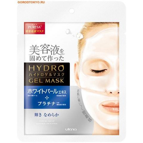 """UTENA """"Puresa"""" Увлажняющая гидрогелевая маска с экстрактом белого жемчуга и платиной, 25 гр."""