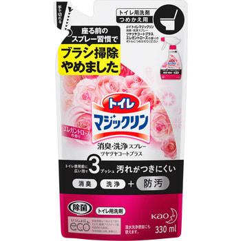 """KAO Спрей для чистки и дизенфекции туалета """"Toilet Magiclean"""", с ароматом розы, сменная упаковка, 350 мл."""