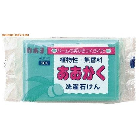KANEYO Kaneyo «98% жирных кислот» - Хозяйственное мыло на основе плодов пальмы, для удаления загрязнений с воротников и манжетов, мягкое для кожи рук, брикет 190 гр.