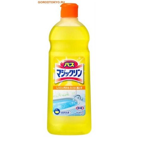 KAO «Magiclean Bath» - Жидкое чистящее средство для ванной комнаты с ароматом лимона, сменная бутылка, 485 мл.