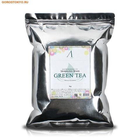 """ANSKIN """"Grean Tea Modeling Mask"""" Маска альгинатная с экстрактом зелёного чая, успокаивающая, антиоксидантная, пакет, 1 кг. от GorodTokyo"""