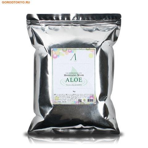 """ANSKIN """"Aloe Modeling Mask"""" Маска альгинатная с экстрактом алоэ успокаивающая, пакет, 1 кг. от GorodTokyo"""