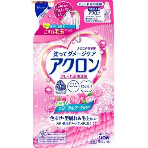 """LION """"Acron"""" Средство для стирки деликатных тканей, цветочный аромат, сменный блок, 400 мл."""