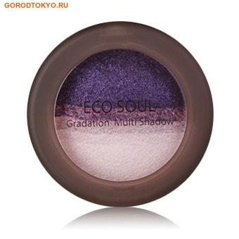 "THE SAEM №05 ""ECO SOUL Gradation Multi Shadow"" Мультитени для век ""Fantastic Purple"", 6,5 гр."