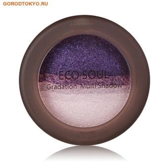 """THE SAEM №05 """"ECO SOUL Gradation Multi Shadow"""" Мультитени для век """"Fantastic Purple"""", 6,5 гр."""