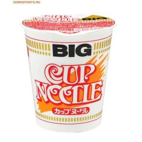 "NISSIN Лапша ""CUP NOODLE"" со вкусом креветки и соевым соусом, 99 гр."