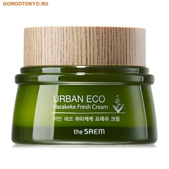 """THE SAEM """"Urban Eco Harakeke Fresh Cream"""" Крем освежающий с экстрактом новозеландского льна, 60 мл."""