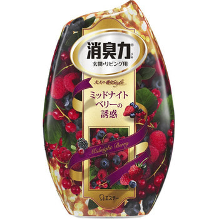 "ST ""Shoushuuriki"" Жидкий дезодорант – ароматизатор для комнат c ароматом сладких ягод, 400 мл."