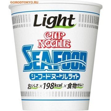 """NISSIN Лапша """"Cup Noodle"""" со вкусом морепродуктов с пониженным содержанием каллорий, 57 гр. от GorodTokyo"""