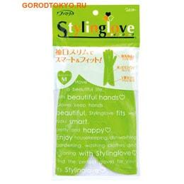 """ST """"Family - Stylinglove"""" Перчатки для бытовых и хозяйственных нужд (винил, средней толщины) размер M, салатовые. от GorodTokyo"""
