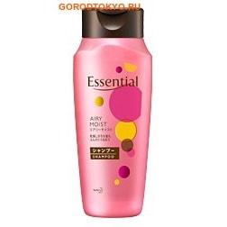"""KAO """"Essential Damage Care Nuance Airy"""" Питающий шампунь для ослабленных волос, лёгкий, 200 мл."""