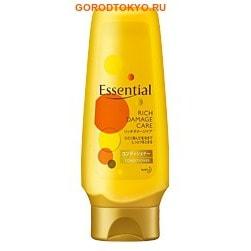 """KAO """"Essential Damage Care Rich"""" Премиум-кондиционер для волос, часто подвергающихся термическим и химическим воздействиям, 200 мл."""