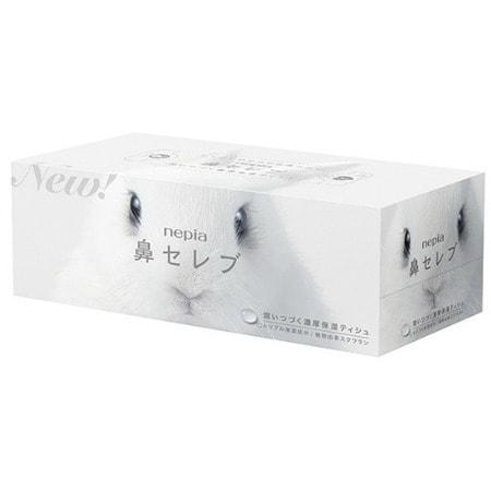 """Nepia """"Весёлые носики - Белоснежный Кролик"""" Салфетки бумажные, 200 шт. в коробке. (фото)"""