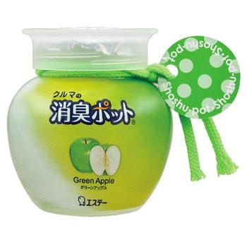 """ST """"Shoushuu Pot"""" Ароматизатор автомобильный с ароматом зелёного яблока, 150 гр."""
