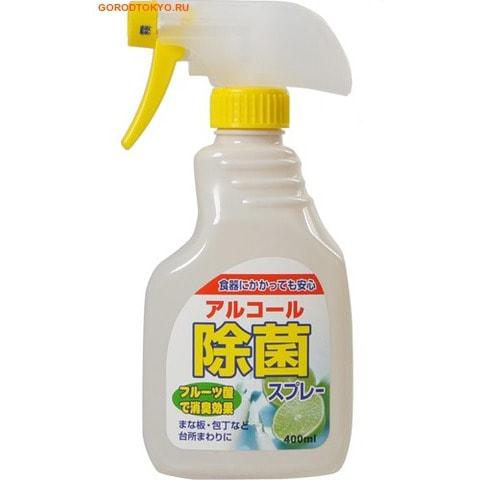 DAIICHI Антибактериальный спрей для кухни, аромат фруктов, 400 мл.