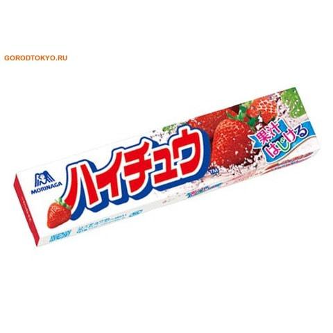"""MORINAGA """"Hi-Chew"""" Жевательные конфеты со вкусом клубники, 12 шт., 36 гр."""