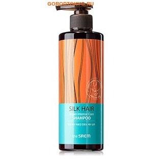 """THE SAEM """"SILK HAIR Argan Intense Care Shampoo"""" Шампунь для восстановления волос с аргановым маслом, 380 гр."""