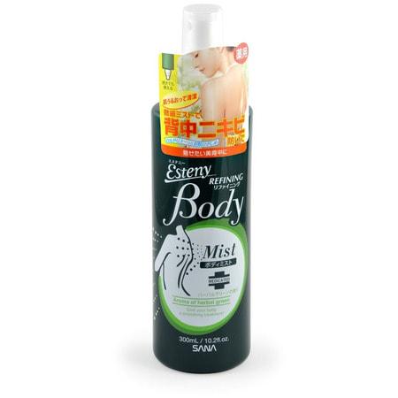 SANA SANA BODY REFINING LOTION Лосьон для проблемной кожи тела (с ароматом свежих трав), 300 мл.Для проблемной кожи<br>Лосьон-спрей для тела освежает, оказывает противовоспалительное, тонизирующее и укрепляющее действие, заряжает энергией.  Pегулирует работу сальных желез.  Содержит антибактериальный компонент - салициловую кислоту.  Благодаря содержанию меда не сушит кожу. Обладает ароматом свежих трав.    Активные компоненты:<br><br>Масла розмарина, шалфея, ромашки обладают антибактериальными и противовоспалительными свойствами, а также антигрибковой активностью, снимают раздражение кожи, увлажняют.<br>Хлорофилл обладает противовоспалительными, дезодорирующими, регенерирующими и тонизирующими свойствами.<br>Экстракт морских водорослей стимулирует обменные процессы в тканях, способствует выведению токсинов, увлажняет.<br>Мёд увлажняет, смягчает кожу.<br>Аллантоин оказывает смягчающее и увлажняющее действие на поверхностные слои кожи. <br><br>Способ применения: тщательно очистить кожу тела, затем распылить лосьон на проблемные участки.  * Флакон можно использовать как в обычном вертикальном положении, так и перевёрнутым.  Для достижения наилучшего результата для очищения  кожи используйте шампунь для проблемной кожи тела линии SANA.    Состав: салициловая кислота, аллантоин, вода, этанол, медь-хлорофиллин натрия, &amp;alpha;-циклодекстрин, экстракт шалфея, экстракт морских водорослей (1), мёд, экстракт морских водорослей (4),  BG, лимонная кислота, масло шалфея, масло дикой розы, полиоксиэтилен-отвержденное касторовое масло, масло розмарина, масло римской ромашки, гидроксид натрия, парабен.<br>