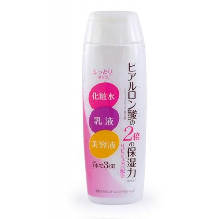 """Meishoku """"Emollient Extra Lotion"""" Увлажняющий лосьон-молочко c церамидами и коллагеном, 200 мл."""