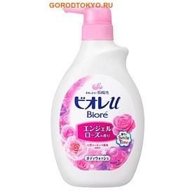 KAO «Biore U - Angel Rose» Гель для душа с нежным ароматом розы, 530 мл.Гели для душа, жидкое крем-мыло<br>Используются только натуральные ароматизаторы, увлажняющая формула геля не содержит мыла.  Гель создан на основе pH-нейтральных очищающих компонентов.  Обладает легкой текстурой и нежной пеной, которая легко смывается.  Благодаря содержащимся в геле очищающим частицам, кожа становится гладкой и увлажненной.  Бережный уход день за днем возвращает коже жизненную силу, естественную красоту и сияние.  Подходит для ежедневного ухода за кожей (даже за нежной кожей ребенка).     Способ применения: нанесите на увлажненную в теплой воде мочалку достаточное количество геля (примерно 2 нажатия) и обильно вспеньте.  Массажными движениями нанесите пену на тело, затем смойте теплой водой.  Состав: вода, лимонная кислота, аммоний лаурил полиоксиэтилен сульфат, пропиленгликоль, лаурил фосфат, миристил фосфат, спирт, гликоль дистеарат, лаурил полиоксиэтилен, сульфат-6 карбоновых кислот, гидроксид калия, стеарат магния, бензонат натрия, полиэтиленгликоль-65М, лаурет-4, натрия гидроксид, сульфат натрия, миристиновая кислота, октоксиглицерин, этанол, отдушка.<br>