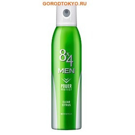 KAO �8x4 Men Deodorant Clear Citrus� ������� ����������-�������������� � ���������� ���������� ��������, 135 ��.