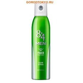 KAO «8x4 Men Deodorant Clear Citrus» Мужской дезодорант-антиперспирант с освежающим цитрусовым ароматом, 135 гр.