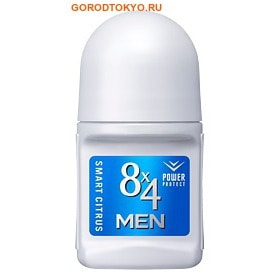 KAO �8x4 Men Deodorant Roll-on Smart Citrus� ��������� ������� ���������� � �������� ���������� ��������, 50 ��.