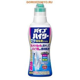 KAO «Haiter» Высокоэффективный дренажный гель для очистки сливных труб в ванной, туалете и кухне, 500 гр.