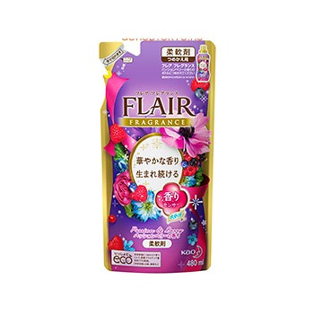 KAO �Flare fragrance Passion & Berry� ����������� ��� �����, � ����������������� ��������, � ����������� �������� ������� ����, 480 ��, ������� ��������.