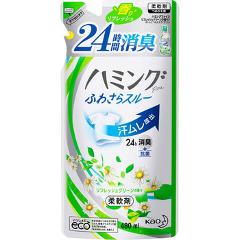 KAO �Hamming Fine refresh Green� ����������� ��� ����� � ������� �� ������������� ����������� ������, � �������� �������������� ����, 480 ��, ������� ��������.