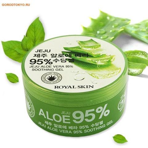 """Royal Skin """"Royal Skin"""" Многофункциональный гель для лица и тела с 95% содержанием алоэ, 300 мл."""