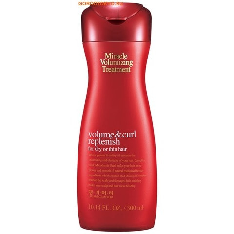 "DOORI COSMETICS ""Miracle Volumizing Treatment"" Кондиционер для объёма волос, 300 мл."